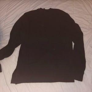 H&M Shirts - Black and White H&M Graphic Sweatshirt